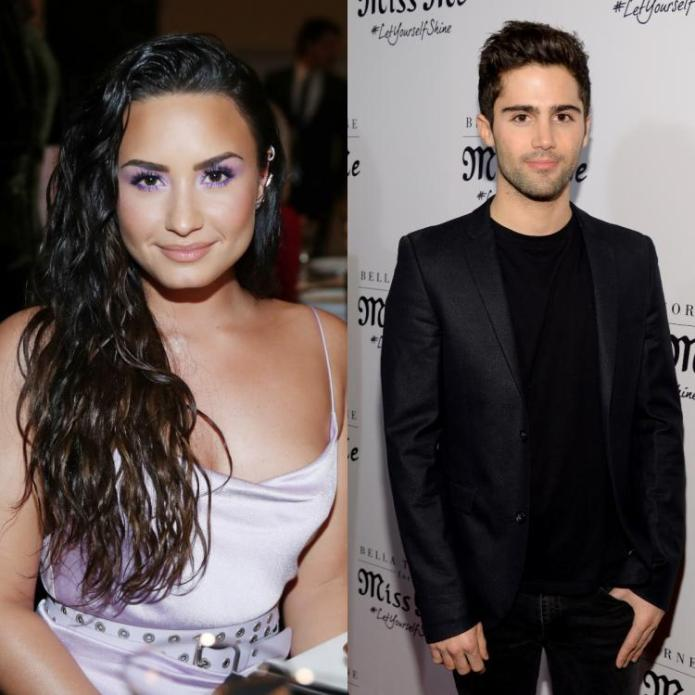 entertainment Max Ehrich Says Demi Lovato hasn't 'officially ended anything'