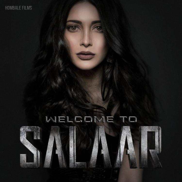 Salaar: Prabhas welcomes Shruti Haasan on board and pens a sweet birthday  note for her as she joins the team | PINKVILLA