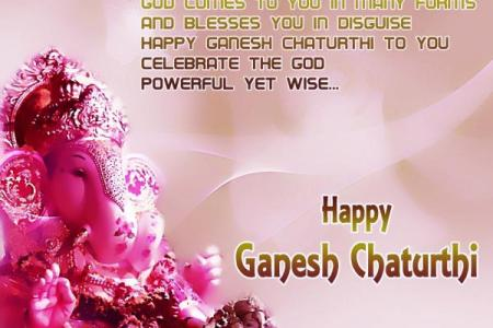 Ganesh Chaturthi  Ganpati 2018 wishes  greetings  messages  Whatsapp     Wishing you happiness as big as Ganesh s appetite