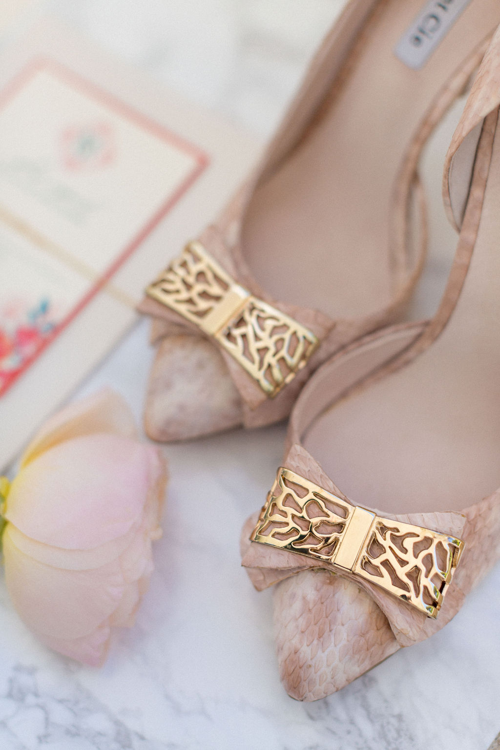 16ec289e928 Wedding Shoes for the Blush-ing Bride