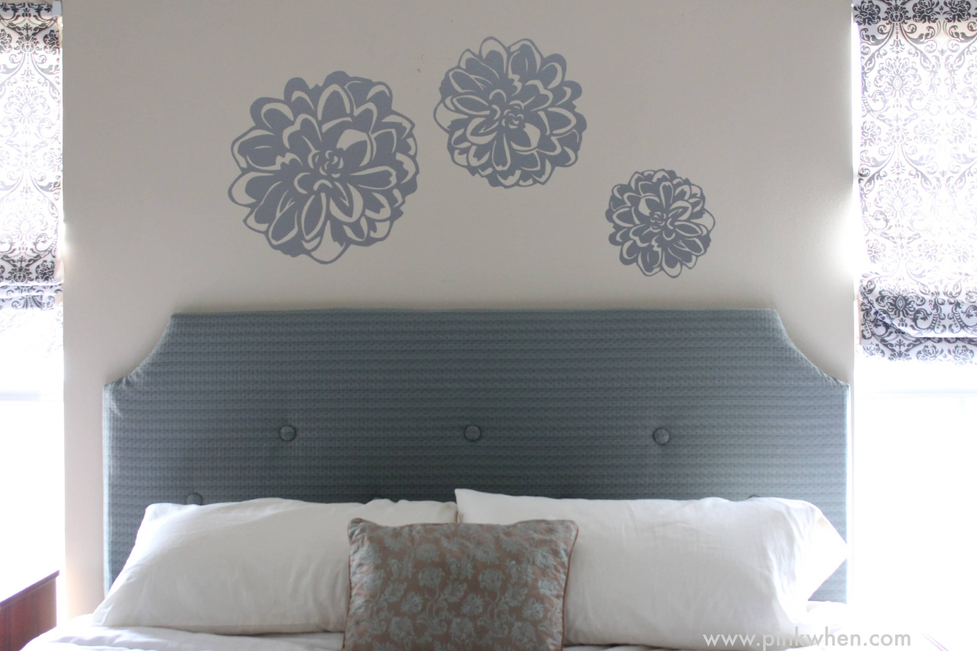 DIY Tufted Headboard For Under 100 PinkWhen