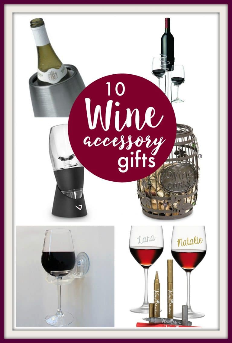 10 Great Wine Accessory Gifts PinkWhen
