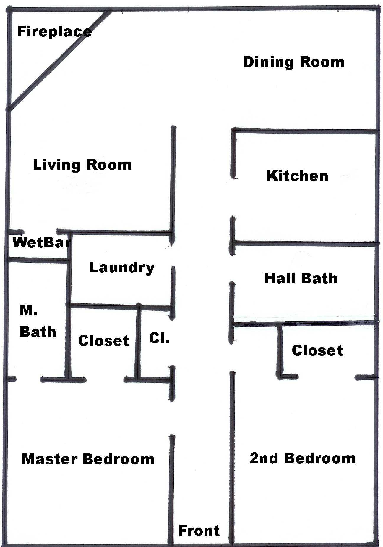 Floorplan For Unit