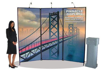 Pop up tradeshow displays