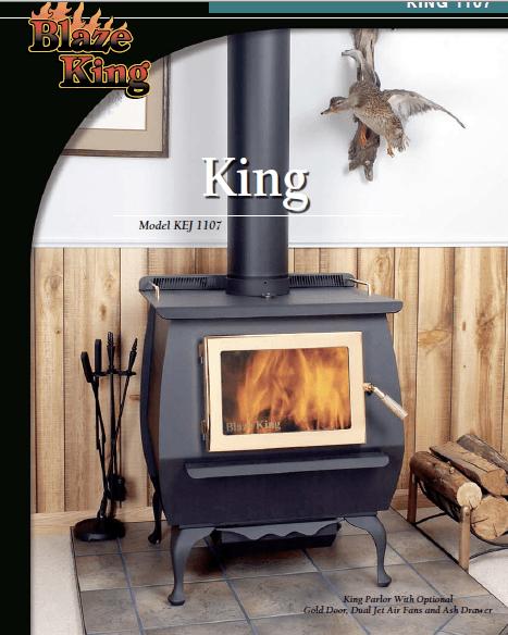 Blaze King Wood Stoves Fireplaces