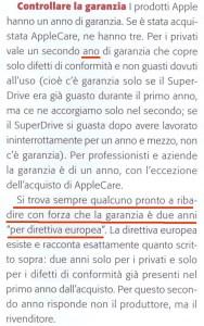 L'articolo pubblicato su MacWorld d settembre 2009...con un refuso reudiano