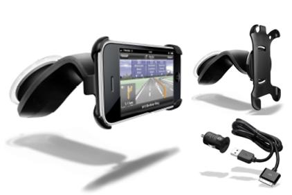 Supporto auto per Navigon Mobile Navigator per iPhone
