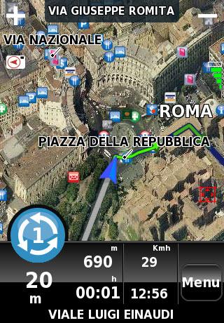 NDrive Roma