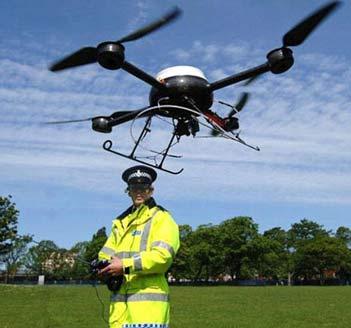 Anche in Gran Bretagna la polizia sperimenta l'uso di droni