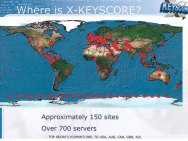 I 700 server usati dalla NSA per il sistema Xkeyscore