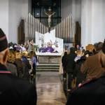santa messa per l'inaugurazione della casa di francesco
