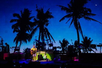 Jimmy Buffett performs at the First Midwest Bank Ampitheatre on June 27, 2015