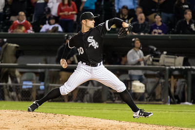 David Robertson closes out the White Sox win over the Boston Red Sox on August 25, 2015