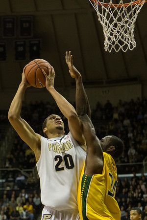 Purdue Boilermakers vs. Siena Saints A.J. Hammons