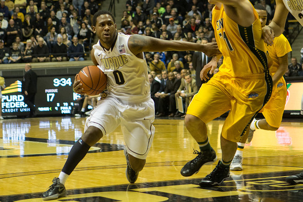 Purdue Boilermakers vs. Siena Saints Terone Johnson