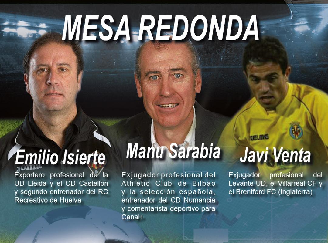 Emilio Iserte - Manu Sarabia - Javi Venta Ex Futbolistas Profesionales