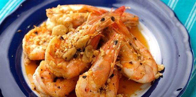 Chili Garlic Shrimp Recipe