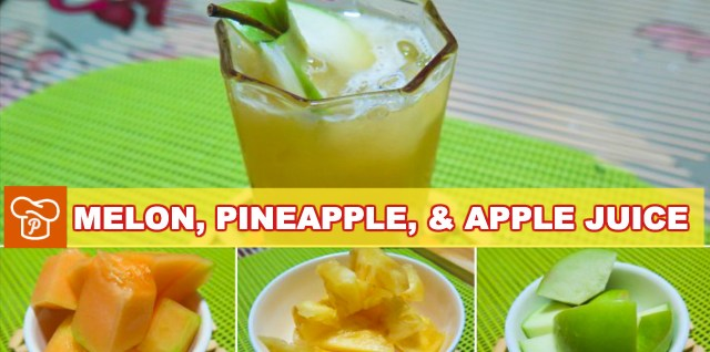 Melon Pineapple Apple Juice