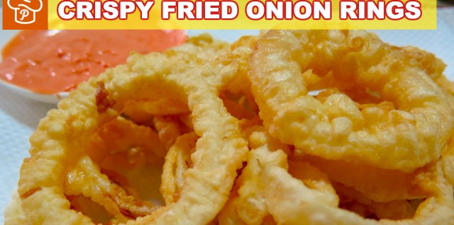 Crispy Fried Onion Rings Recipe