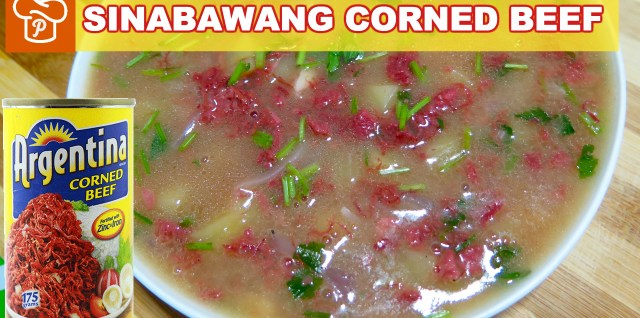 Sinabawang Corned Beef Recipe