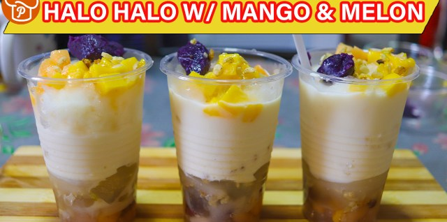 Halo Halo with Mango and Melon Recipe