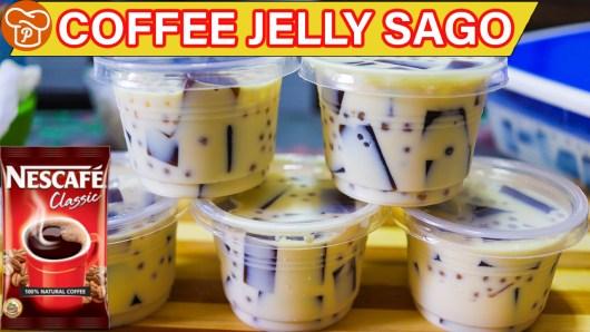 Coffee Jelly Sago Recipe