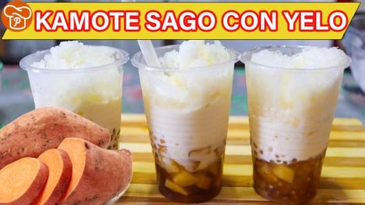 Kamote Sago Con Yelo Recipe