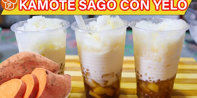 Kamote Sago Con Yelo Recipe