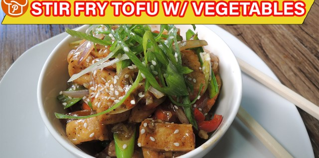 Stir Fry Tofu with Vegetables Recipe