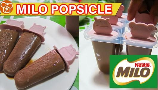 Milo Popsicle Recipe