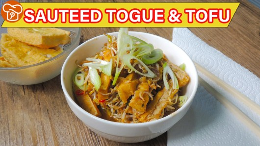 Sauteed Togue and Tofu Recipe