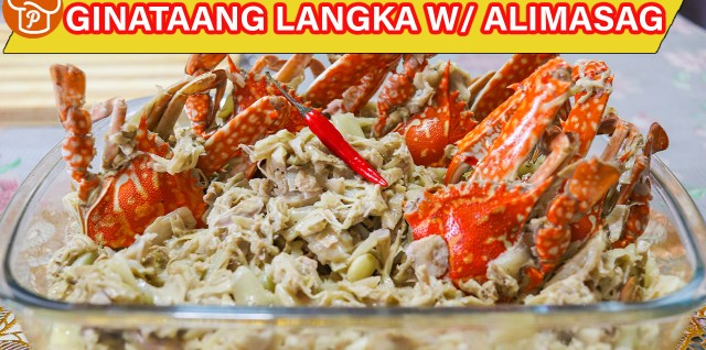 Ginataang Langka with Alimasag Recipe
