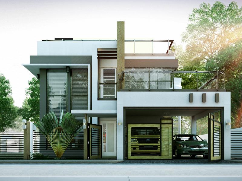 Modern House Designs Series: MHD-2014010 | Pinoy ePlans on Modern House Ideas  id=34750