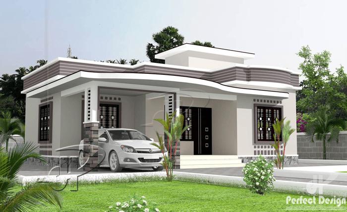 Simple 2 bedroom floor plan with roof deck pinoy eplans for House floor plan with roof deck