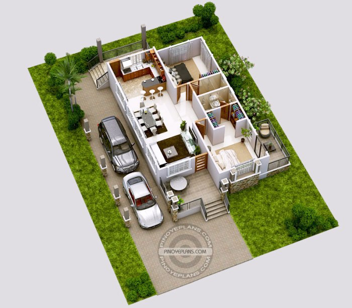 Amazing Architecture Magazine: Luxury 2-Bedroom Elevated House Design