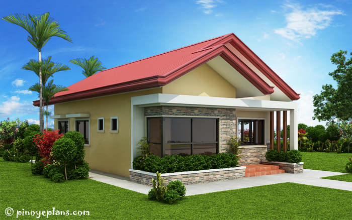 Single storey 3 bedroom house plan pinoy eplans for Standard 3 bedroom house plans