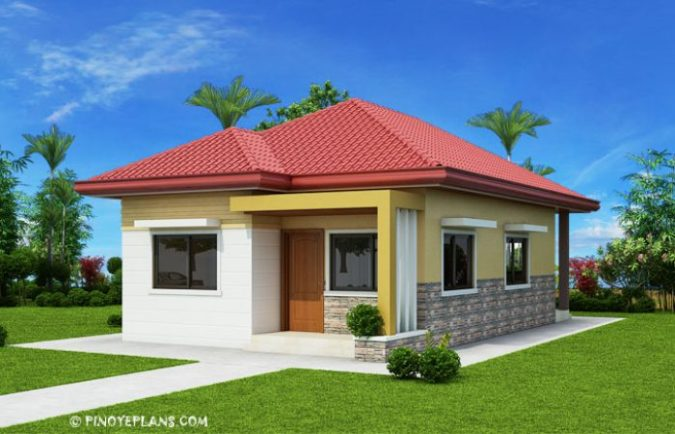 Simple Yet Elegant 3 Bedroom House Design  SHD 2017031    Pinoy ePlans Plan Details