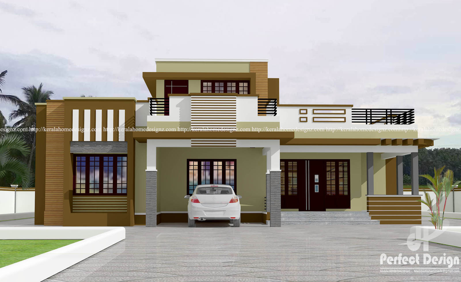 3 bedroom contemporary home design pinoy eplans for Eplans contemporary house plans