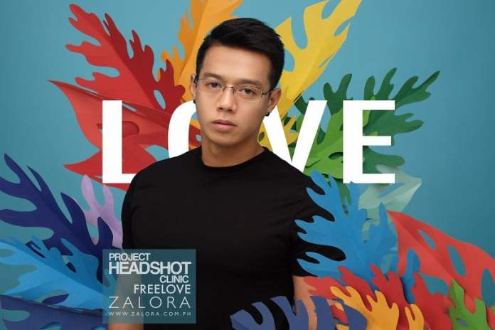Project Headshot Clinic Zalora Philippines FreeLove 2017 - Jeff Alagar
