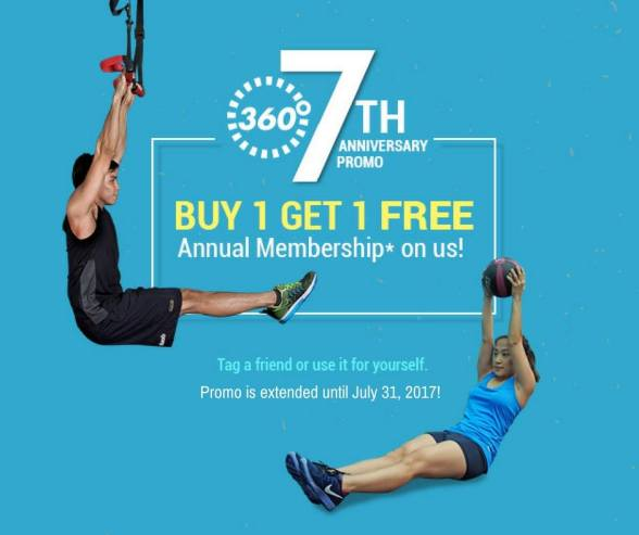 EXTENDED: Buy One, Get One Membership At 360 Fitness Club ...