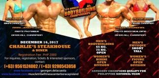 15th pcbf boracay bodybuilding championships relatable fitness philippines image1