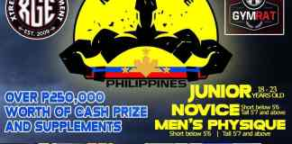 mr physique philippines 2017 evogen extreme gym equipment competition image1