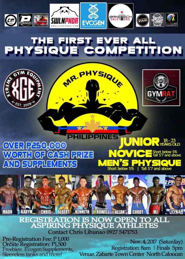 Mr. Physique Philippines 2017