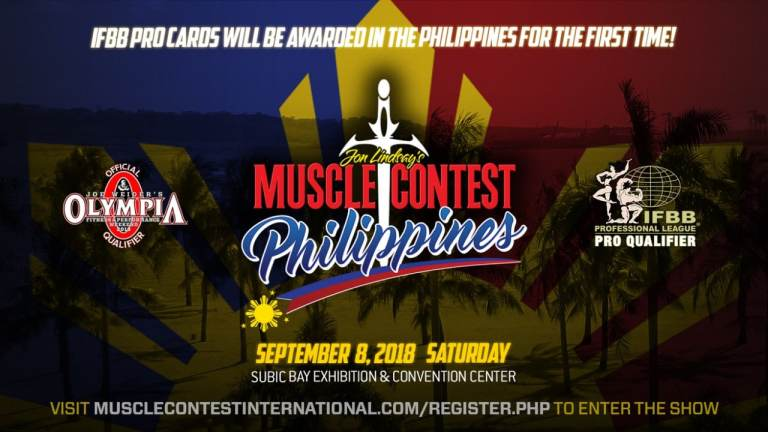 MuscleContest Philippines: IFBB Pro Cards Await Athletes
