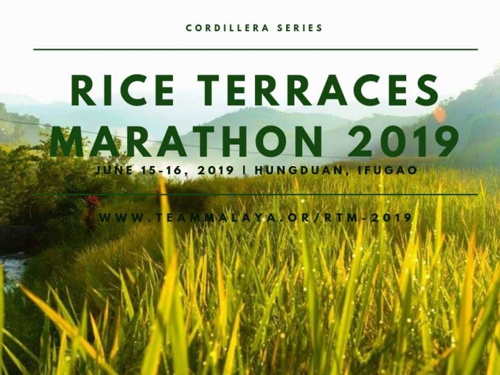Rice Terraces Marathon 2019 vertical philippines north pinoy fit buddy events