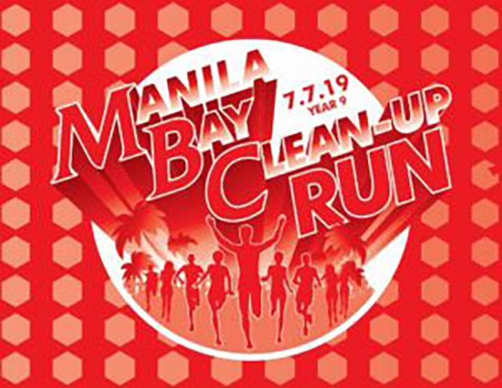 Manila Bay Clean Up run 2019 posterv2