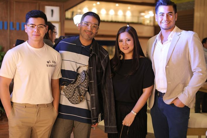 Image 4 Maite Uy with L R Pat Sugui Bang Pineda and Fabio Ide