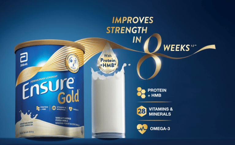 Abbott's Ensure Gold® Encourages Filipinos To Give Their Loved Ones the Gift of Strength