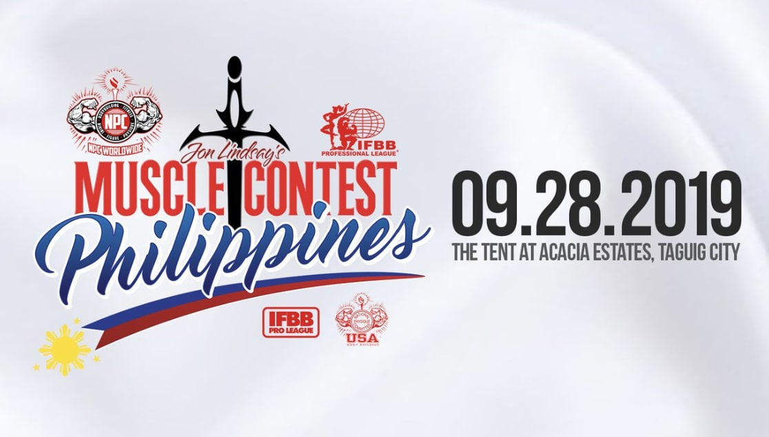 musclecontest philippines 2019 bodybuilding fitness events physique men women event poster