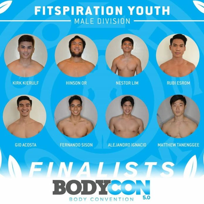 golds gym bodycon 5 finalists fitspiration youth male